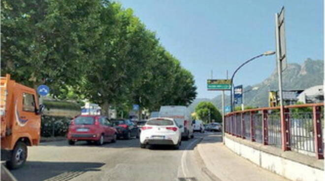 Transenne autostrada Salerno