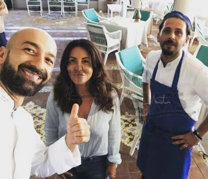 Anche Sabrina Ferilli sceglie Positano e Villa Treville!