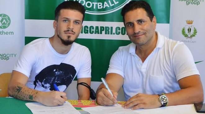"""Calcio. """"Ferdinando D'Arco firma ancora per Capri"""""""