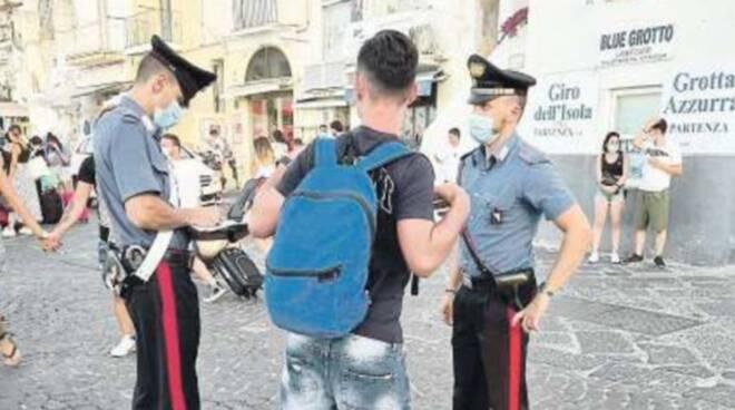 Campania. Regole anti covid: controlli e multe nelle isole