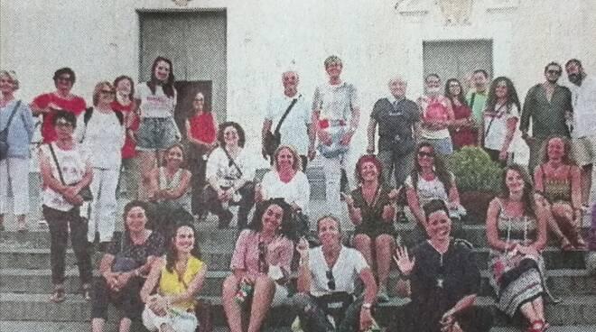 """A Massa Lubrense presentata \""""Agat\"""" (Associazione Guide ed Accompagnatori turistici)."""