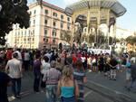 Castellammare di Stabia, Manifestazione in solidarietà del carabiniere aggredito dal branco