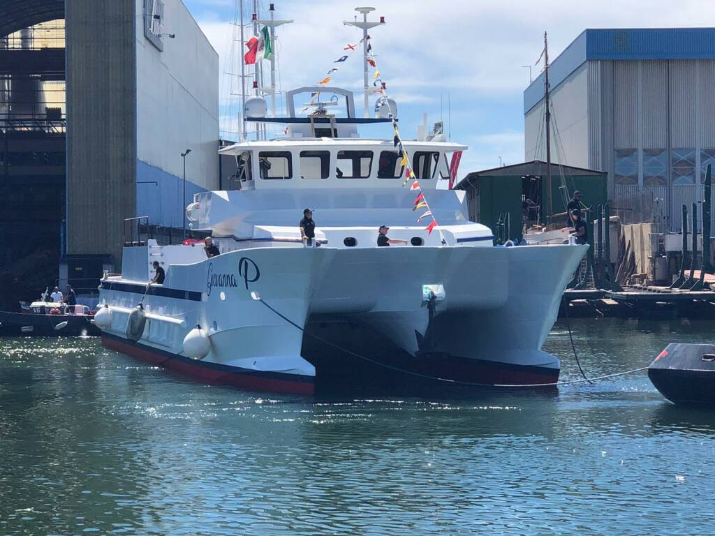 """Cetara accoglie la nuova imbarcazione """"Giovanna P"""""""