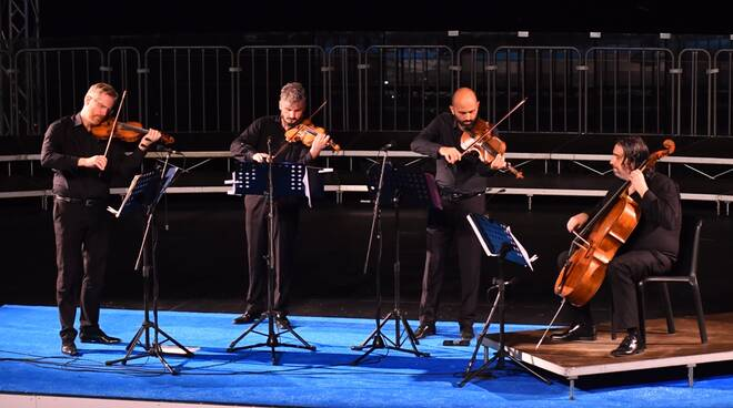 Il Quartetto di Cremona incanta il pubblico di Ravello
