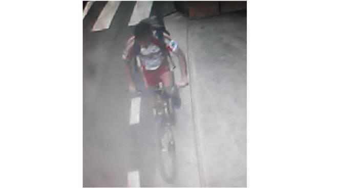 ladro bici positano