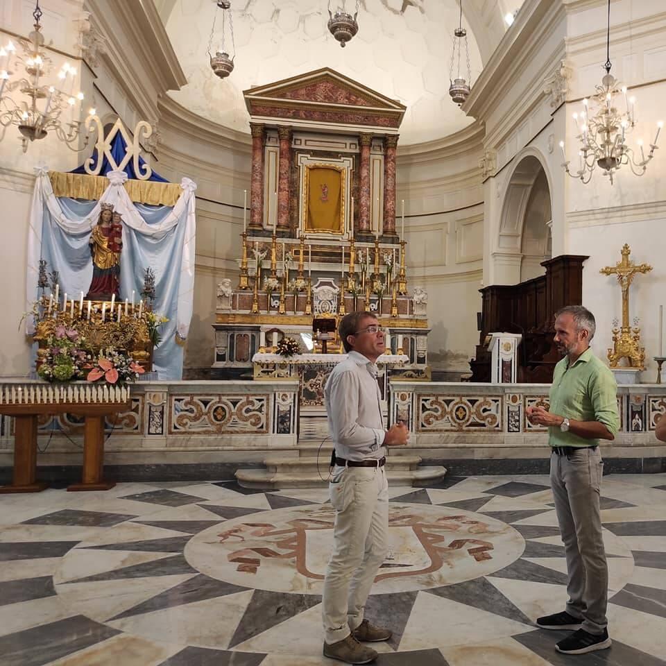 Maiori Rai Uno Santa Maria a Mare