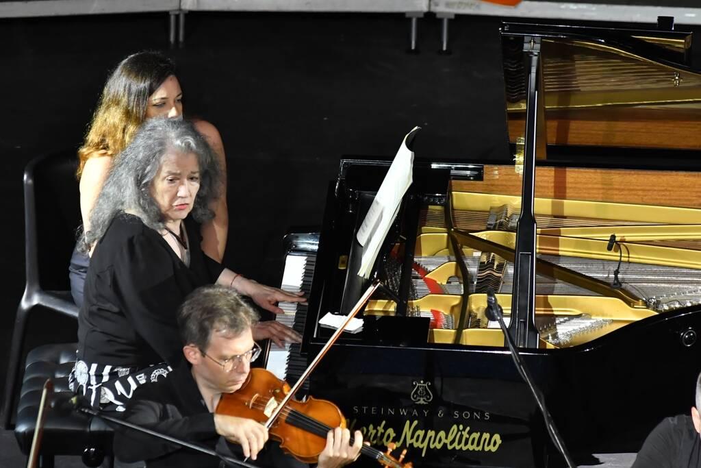 Martha Argerich al Ravello Festival