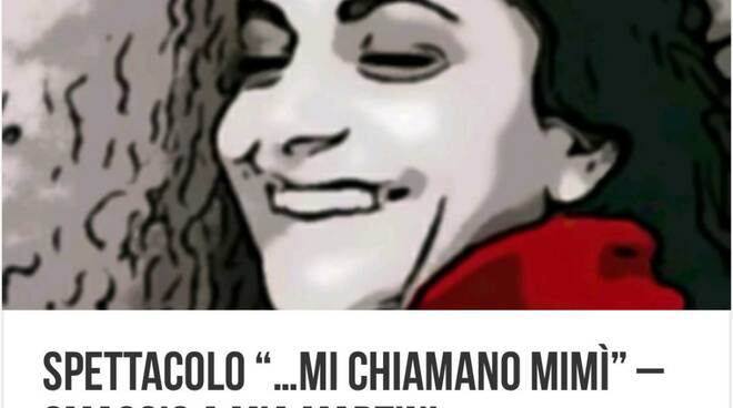 """Minori, Piazza Cantilena ore 21.30 """"... mi chiamo Mimì"""""""