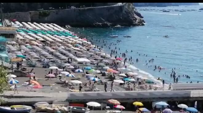 Minori spiaggia