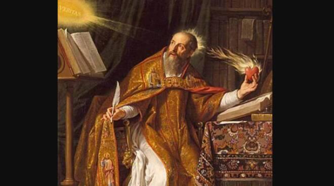 Oggi la Chiesa festeggia Sant'Agostino