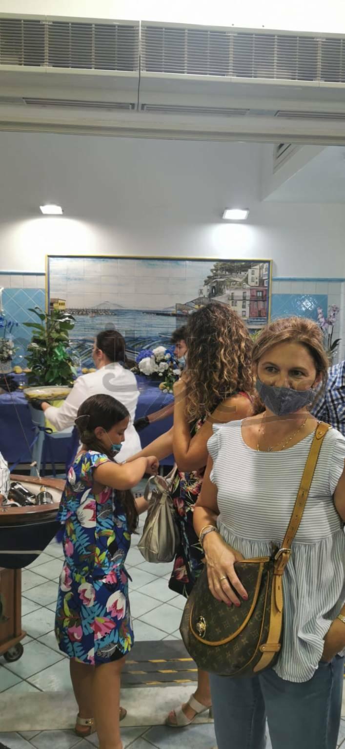 piano di sorrento cucina pescheria mare blu di nello