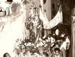 Positano foto storiche della festa dell'Assunta