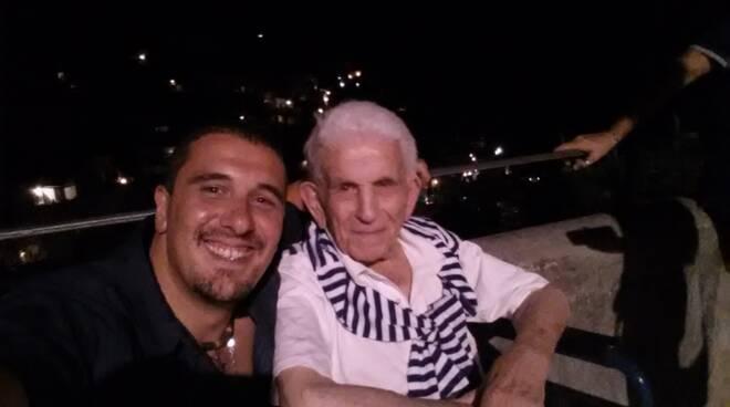 positano michele rispoli ricordo nonno 102 anni