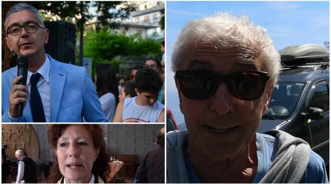 Salvatore Della Pace, Elvira D'Amato, Antonio Capone Maiori