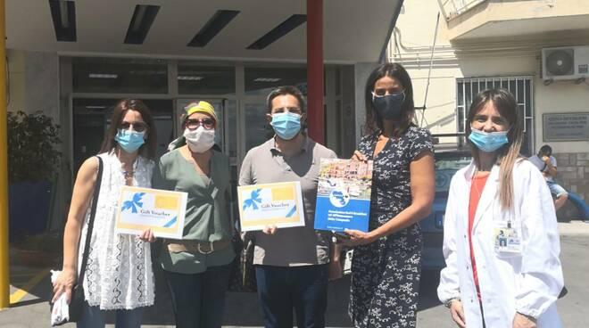 Solidarietà anti-covid all'AORN Santobono-Pausilipon