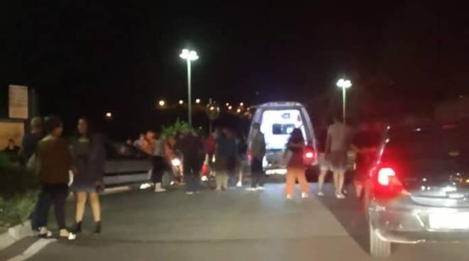 Tramonti donna investita a Polvica sulle strisce pedonali