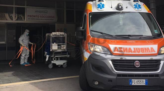 ambulanza covid da sorrento