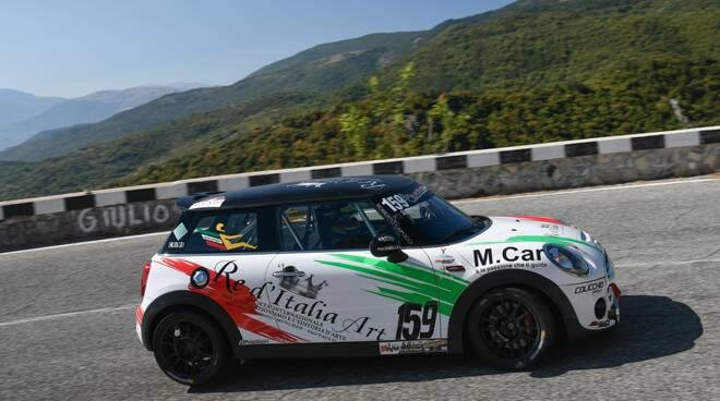 automobilismo, Giovanni Loffredo gara di Alghero