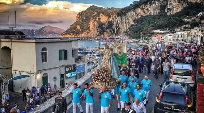Capri. Niente processione per la Madonna della Libera