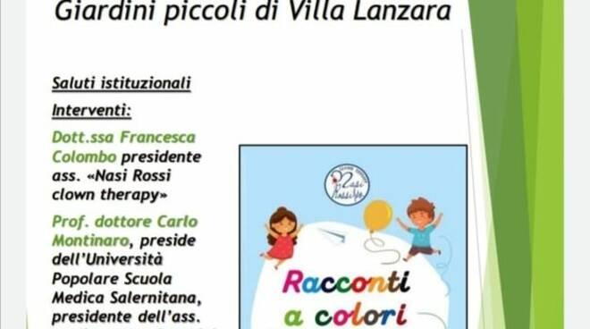 """Presentazione del libro \""""Racconti a colori\"""" a cura dell\'Associazione Nasi Rossi Clown Therapy"""
