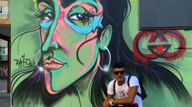 Un murales per Armine  Harutyunyan