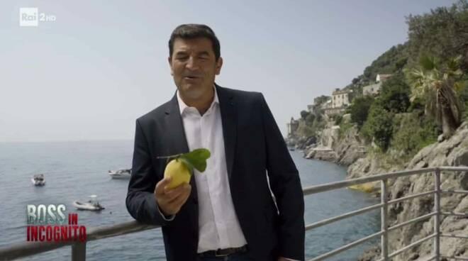 Carlo De Riso Limone Costa d' Amalfi boss in Incognito
