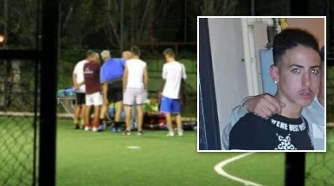 Christian dell'Aversano muore durante una partita