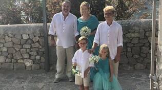 Conca dei Marini/Praiano. Tanti auguri a Rino e Rossella per il loro matrimonio!