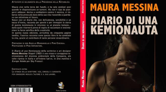 "Copertina libro - Maura Messina ""Diario di una kemionauta"""