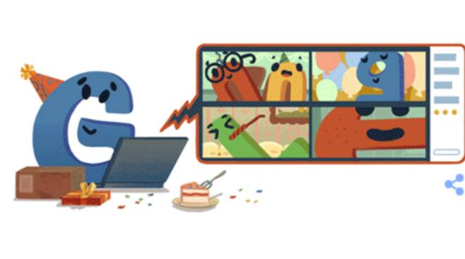 È il compleanno di Google: il Doodle di oggi per festeggiare i suoi 22 anni