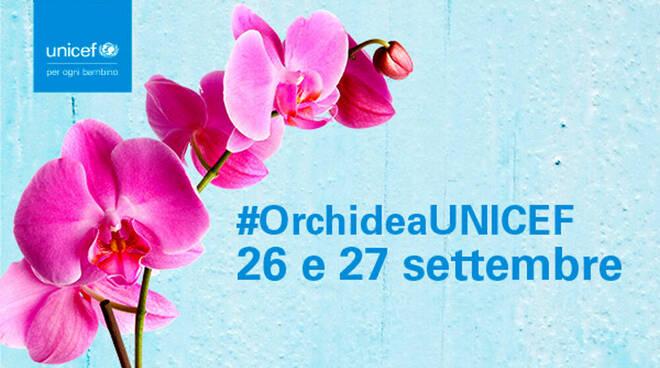 Festa dei nonni. In Penisola Sorrentina ed in Costiera Amalfitana torna l'Orchidea UNICEF