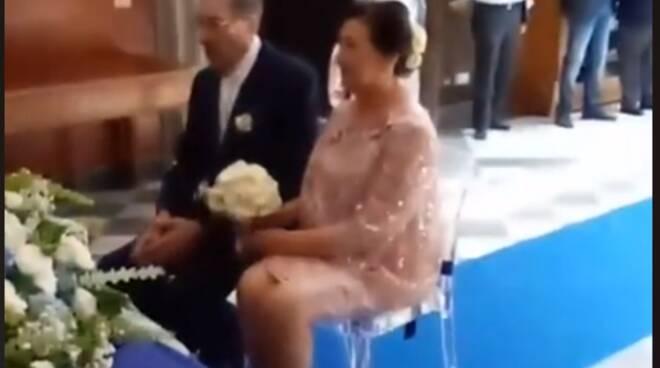 Gioia a Massa Lubrense per il matrimonio di Antonio Belfiore