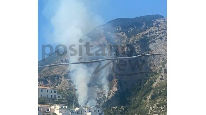 incendio valle delle ferriere