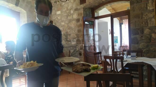 Le Grottelle dove assaggiare cibo genuino, con la melenzana gourmet di San Michele