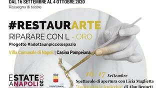 Locandina - #Restaurarte|riparare con l-oro