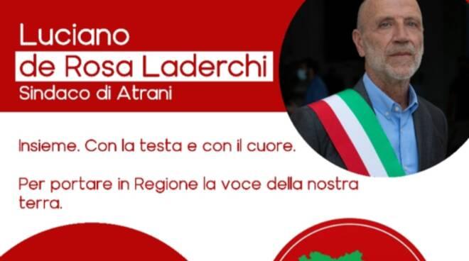 Luciano De Rosa comizio ad Amalfi