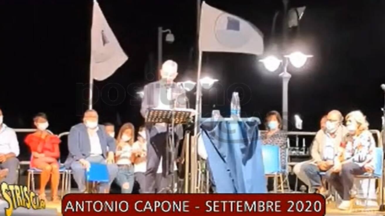 Maiori, Capone copia il discorso di De Luca, stasera il video su Striscia la Notizia