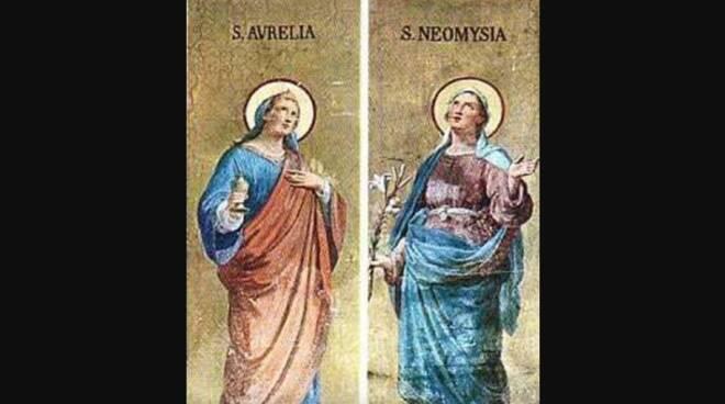Oggi la Chiesa festeggia le Sante Aurelia e Neomisia