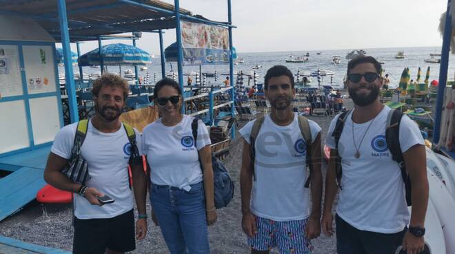 """Positano: arriva l'iniziativa """"Madre"""", movimento di tutela e salvaguardia del mare"""