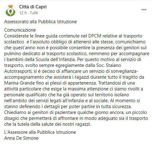post capri