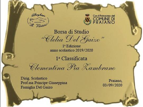 """Praiano. Giovedì 3 settembre da """"Donna Clelia"""" la premiazione di 3 ragazzi della scuola alberghiera di Agerola"""
