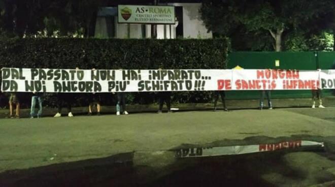 protesta romanisti