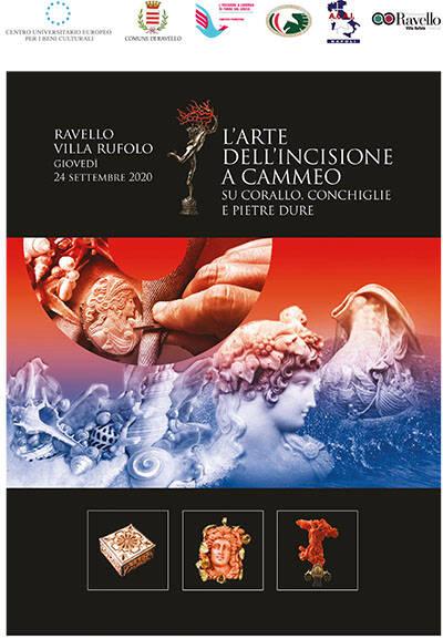Ravello. Convegno sull'arte dell'incisione a cammeo su corallo, conchiglie e pietre dure: candidatura UNESCO