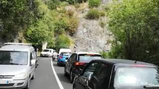 semaforo e disagi sulla statale Positano e Praiano
