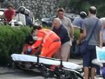Sorrento. Incidente sul Corso Italia verso la stazione di benzina IP