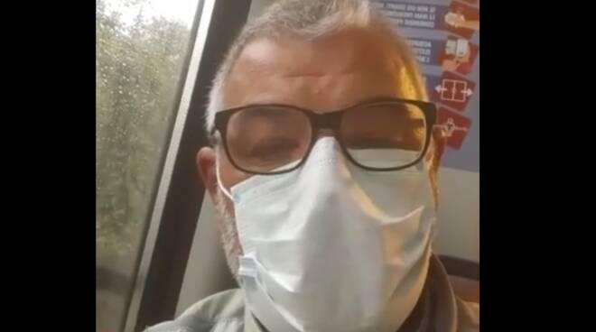 Treno bloccato tra Sorrento e Sant'Agnello: l'appello di don Giovanni Ferraro