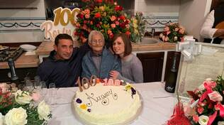 101 anni Rosa a Scala