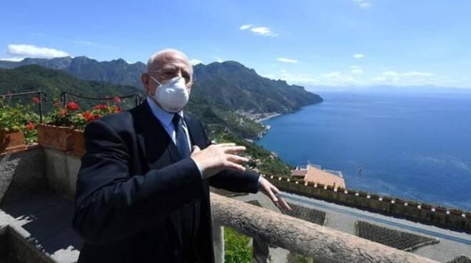 De Luca, senza ristori impossibile lockdown Campania \'Anche perché mancherebbero drastiche misure nazionali\'