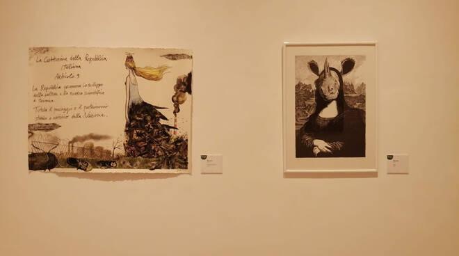 Fabio Sironi una mostra per la sua Gallarate