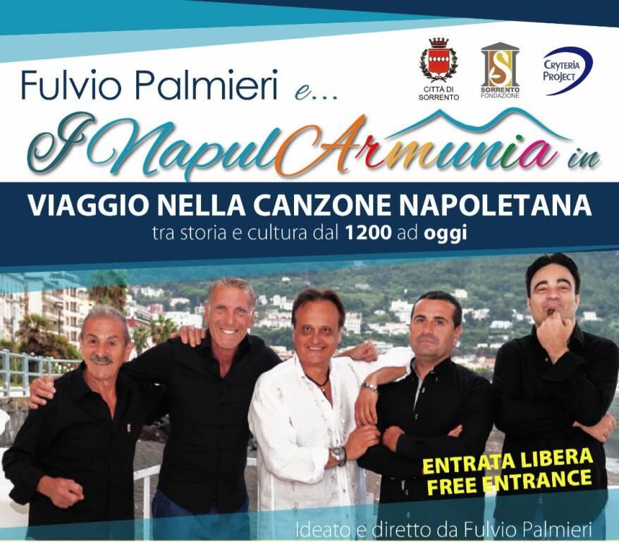 Intervista esclusiva a Fulvio PALMIERI per il grande successo dei NapulArmunia